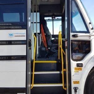 22-111 (4) Thomas C2 Crewhaul Bus Camera Storage