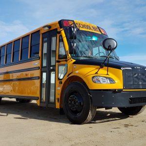 22-702 (1) Thomas C2 Detroit School Bus