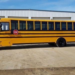 22-702 (3) Thomas C2 Detroit School Bus