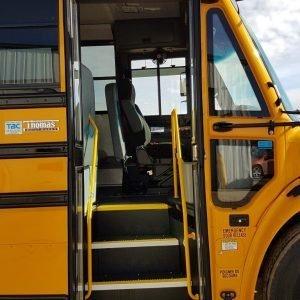 22-702 (6) Thomas C2 Detroit School Bus