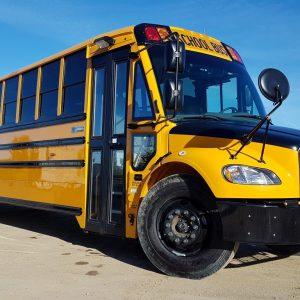 22-715 (4) Thomas C2 Cummins School Bus