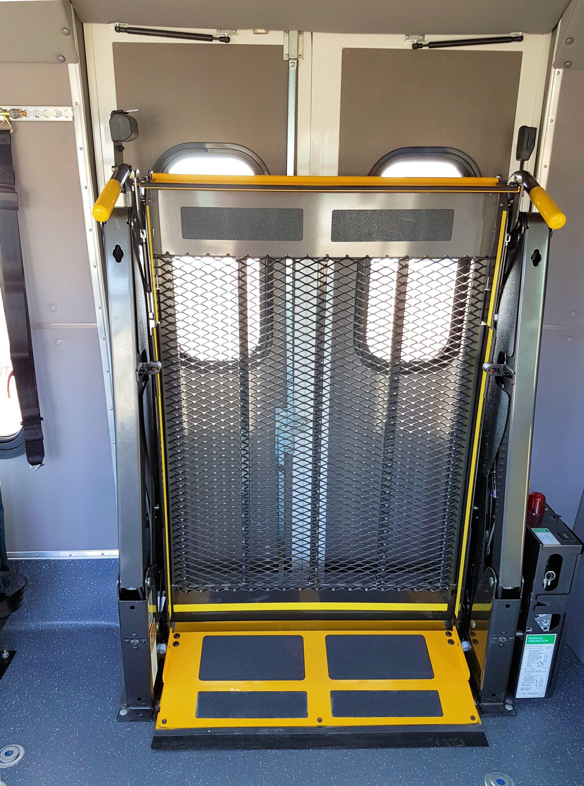 Paratransit and Senior Bus Ramp